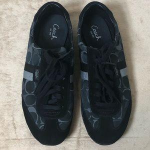 """NWOT Black Coach Sneakers """"Kinsley"""""""